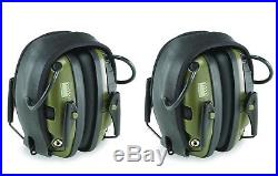 2 Pack Safe Electronic Shooting Earmuffs with Adjustable Headband for Men, Women