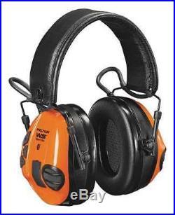 3M MT16H21FWS5U-584 Electronic Ear Muff, Orange/Black, 20dB