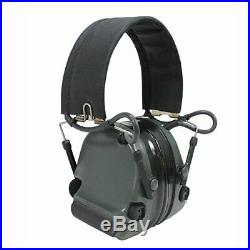 3M MT17H682FB-09 FG Peltor ComTac III Hearing Defender Electronic Earmuffs NRR