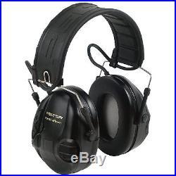 3M PELTOR 97451 EAR MUFF TACTICAL SPORT ELECTRONIC BLACK 20DB MT16H210F Headset