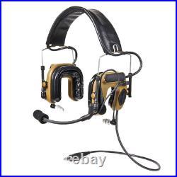 3M PELTOR COMTAC IV Hybrid Communication Headset Coyote Brown, MT16H044FB-47 CY
