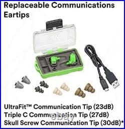 3M PELTOR EEP-100 Electronic Ear Plug, Green, 8.5 oz. Weight