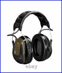 3M PELTOR ProTac Hunter (Slim) Headset Green Headband 1EA