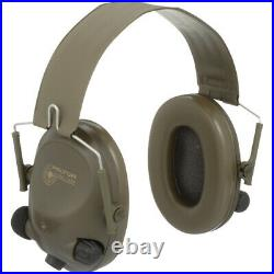 3M PELTOR SoundTrap Slimline Earmuff MT15H67FB, Tactical Electronic Headset