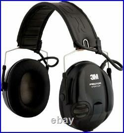 3M PELTOR SportTac Headset, 26 dB, Foldable Headband MT16H210F-479-SV