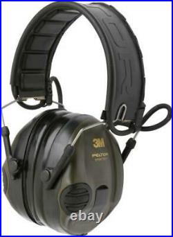 3M PELTOR SportTac Headset Green MT16H210F-478-GN