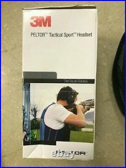 3M PELTOR Tactical Sport Electronic Headset MT16H210F-479-SV/New