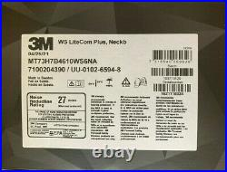 3M PELTOR WS LiteCom Plus Headset MT73H7B4610WS6NA, Neckband