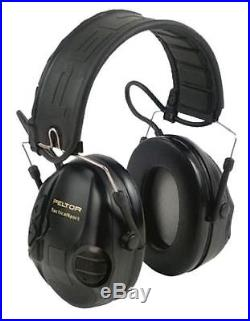 3M Peltor 97451 Tactical Sport Hearing Protector Electronic Muffs 20 dB Black