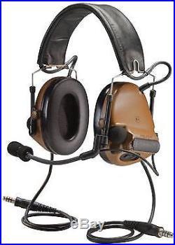 3M Peltor ComTac III Electronic Headset FB Dual Comm Coyote MT17H682FB-19 CY
