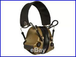 3M Peltor ComTac III Hearing Defender Electronic Earmuffs P/N 17H682FB-47 CY