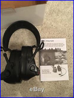 3M Peltor ComTac III Hearing Defender with gel seal ear cups, non-comm version