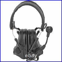3M/Peltor ComTac VI Electronic Earmuff Omni-Directional Microphones Black