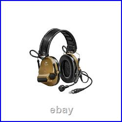 3M/Peltor ComTac VI Electronic Earmuff with Boom Microphone Coyote Brown