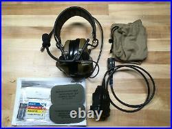3M Peltor Comtac III ACH Kit Coyote, Single Com, PTT, Headset, Ear Protection