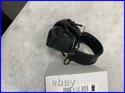 3M Peltor Comtac v black electronic ear muffs WithO Comms