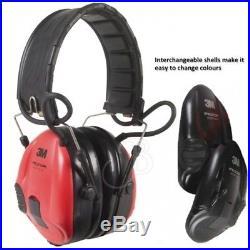 3M Peltor Electronic Ear Defender SportTac Shooting Hunting R&B