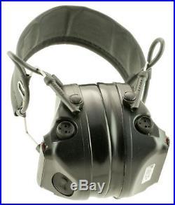 3M Peltor H682FB09SV Comtac III Communication Headset Earmuff 23 dB Black