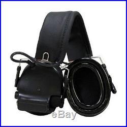 3M/Peltor MT17H682FB-09-SV Black Comtac III Electronic Earmuff (NRR 21/82dB)