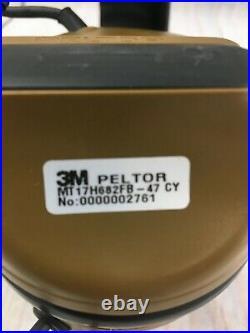 3M Peltor MT17H682FB-47 CY SWAT-TAC III ACH