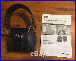 3M Peltor SV Tactical Pro Hearing Protector, Black (MT15H7F SV)