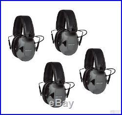 3M Peltor Sport RangeGuard Electronic Earmuffs, Pack of 4, NRR 21dB #RG-OTH-4