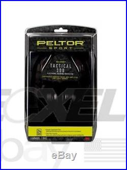 3M Peltor Sport Tactical 300 Electronic Hearing Protector #TAC300-OTH