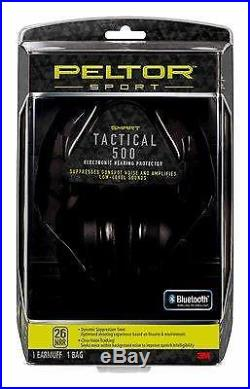 3M Peltor Sport Tactical 500 Electronic Hearing Protector, 1/Pack