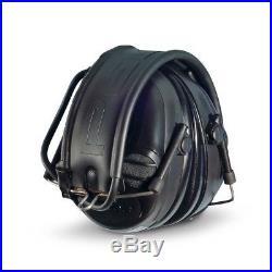 3M Peltor Sport Tactical Black Earmuff Headset Battery Operated