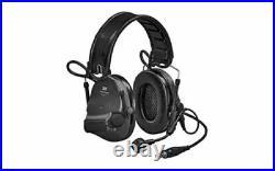 3M/Peltor, SwatTac VI, Electronic Earmuff with Boom Microphone, Omni-Directional M