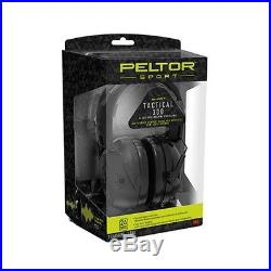 3M/Peltor TAC300-OTH Black Sport Tactical Electronic Earmuff 300 (NRR 24)