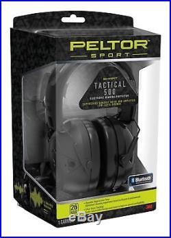 3M Peltor TAC500OTH Sport Tactical 500 Electronic 26 dB Black