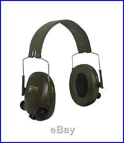 3M Peltor Tactical 6-S Slim Line Electronic Headset with Audio Input Jack Oli