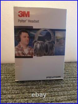 3M Peltor Tactical Pro MT 15H7F SV Electronic foldable headband, black