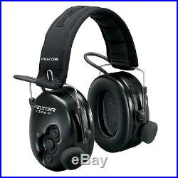 3M Peltor Tactical XP Shooting Hunting Electronic EAR Defenders No Boom Ear Muff