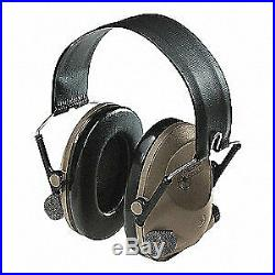 3M Tactical Headset, Over the Head, Grn/Blk, MT15H67FB, O. D. Green, Beige/Black