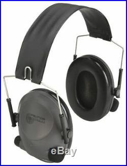 3m Over-the-Head Electronic Ear Muffs, 19dB Noise Reduction Rating NRR