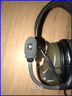 3m Peltor Comtac III Hearing Protection Radio Headset Coyote