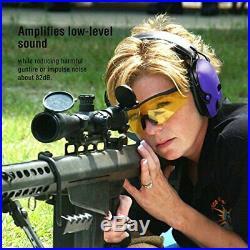 Awesafe Electronic Shooting Earmuff Noise Reduction Sound Amplification Elect