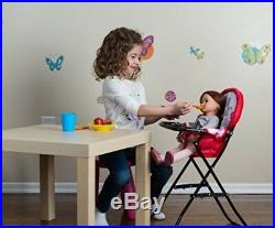 Baby Doll Play Set Swing High Chair Swing Carrier Girl Pretend Toy Gift New