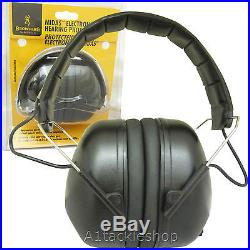 Browning Midas Electronic Shooting Hearing Protection Muffs Ear Defenders