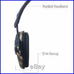 Camo Shooting Ear Muffs Electronic Ear Muffs Noise Reduction Hearing Protection