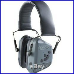 Champion 40980 Electronic Nonoslim Blue Tooth Ear Muffs 26db Grey