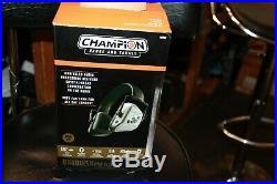 Champion 40982 Vanquish Pro ELITE Gray Shooting Hearing Protection Bluetooth