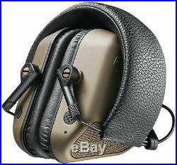 Champion Traps and Targets Headphone Electronic Nanoslim Elite, Olive, 40983