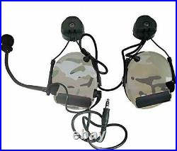 Closed-Ear Electronic Hearing Protection Earmuffs & Communication Headset wit