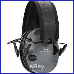 ELECTRONIC HEARING PROTECTOR Peltor Earmuff Sport Rangeguard Shooting Black/Gray
