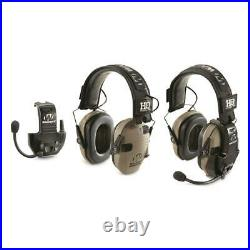 Ear Muffs Electronic Walkers Razor Auto Shut Off With Walkie Talkie 2 Pack