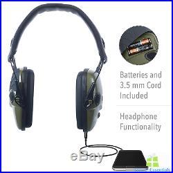 Ear Protection Earmuffs Electronic Headphones For Shooting Range Noise Canceling
