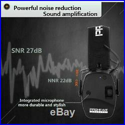 Ear Protection Electronic Shooting Sound Amplification Noise Reduction Ear Muffs